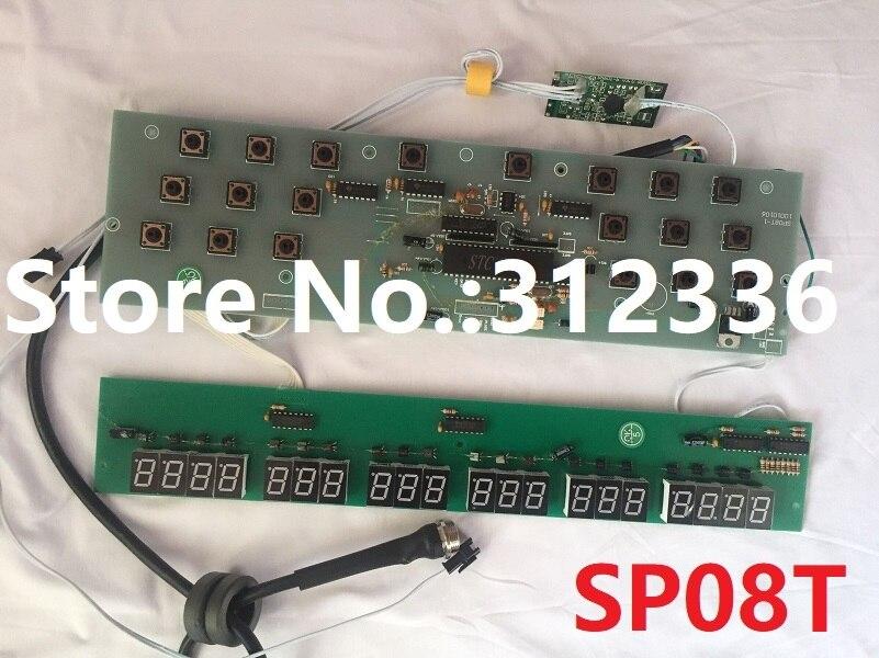 Trasporto Libero Display LCD SP-08T SP08T Huixiang scheda di controllo Sportime Fitness 08 T Sportime 08 T Tapis Roulant Corsa e Jogging
