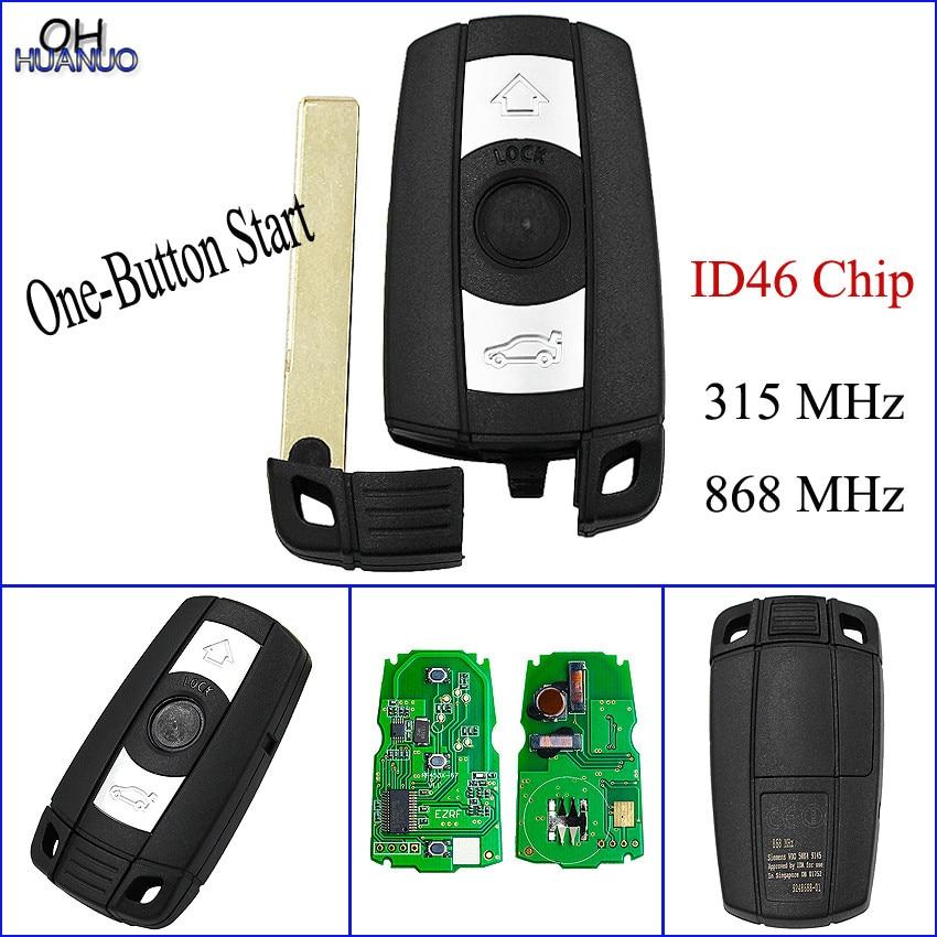 Full Smart Remote Key For BMW 1 3 5 Series X5 X6 2006 2011