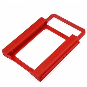 KingDian nowy uniwersalny 2 5 #8222 do 3 5 #8221 SSD HDD środowiska tworzyw sztucznych Adapter uchwyt montażowy uchwyt dysku twardego na pulpit pc tanie i dobre opinie 2 5 Dysk do 3 5 KD-Adapter-2 5 to 3 5 Plastics
