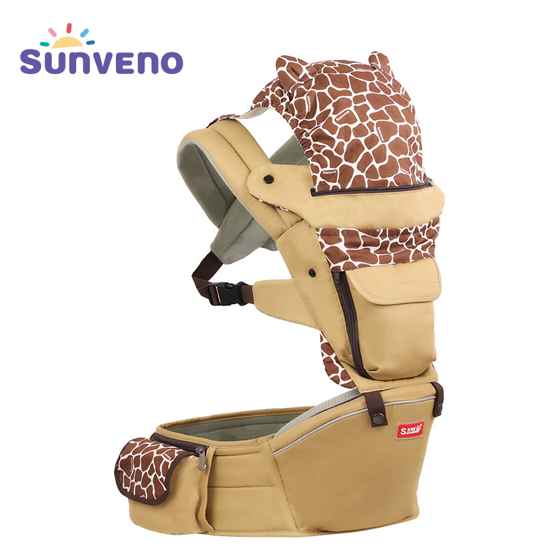 Sunveno Baby Carrier Four Seasons Multifunctional Baby Waist Stool Baby Slings for Baby 0-36M цены онлайн