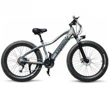 Новый электрический велосипед Ebike 27 скорость 10AH 48 V 500 W E велосипед 26*4,0 горные велосипеды толстый велосипед шоссейный электровелосипед алюминиевый сплав