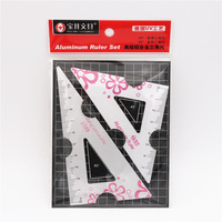 Triangle rulers pink
