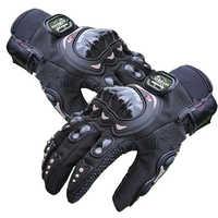 Moto rcycle fibra de carbono luvas de proteção engrenagens dedo cheio respirável wearable verão moto rcycle luvas moto mtb atv luvas