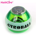 12000 RPMS Fitness Gyroscope Power Ball Gyro Power Ball Wrist Arm Exercise Strengthener LED Force Ball with Speed Meter Counter