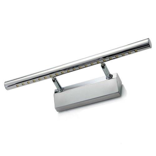 5w smd5050 led a specchio in acciaio inox 21 bagno di luce della lampada da parete lampada luce - Lampada da bagno ...