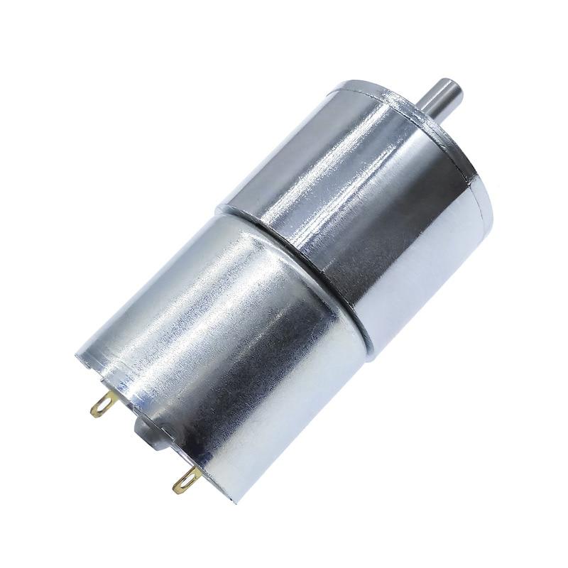 ZGB37RG DC 12V//24V GearWheel Eccentric Shaft Gear Reducer 520 Motor 2RPM-1000RPM