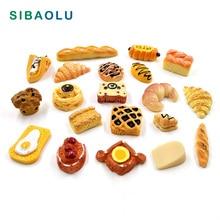 10pcs Artificial food cake snack bread party decoration mini model home decor miniature fairy take DIY accessories
