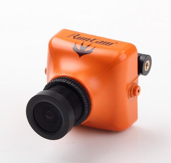 RunCam Swift 600TVL FPV Camera OSD DC 5-17D-WDR For FPV [Orange ] 2.8mm Lens runcam micro swift 2 fpv camera 2 1mm lens fov160w osd