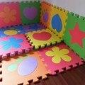 12 PCS Dos Desenhos Animados Espuma de EVA Puzzle Esteiras Tapete De Espuma Bebê Crianças rastejando Tapetes de Jogo Do Bebê Tapete Crianças Tapete 100% Inodoro PX09