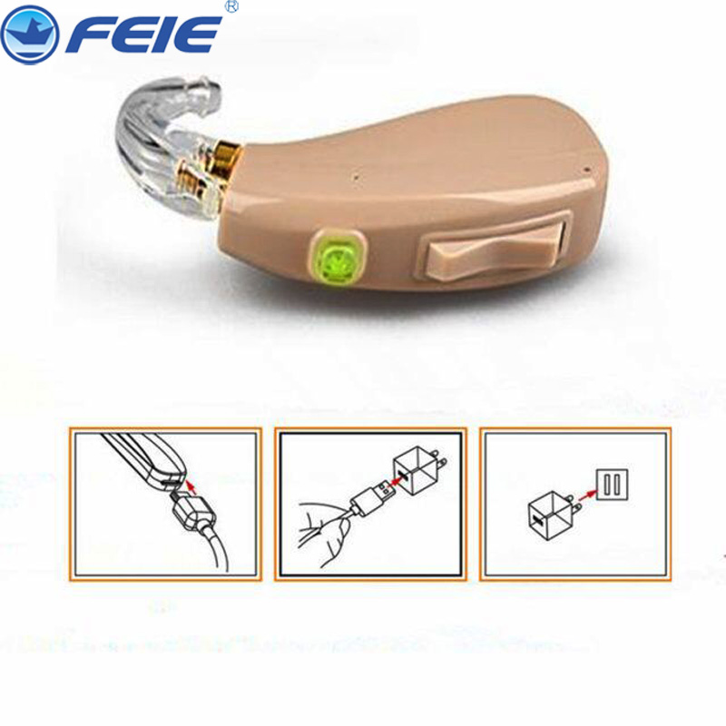 Rechargeable Hearing aid amplifeir USB aerphone HEARING AIDS clear sound FREE SHIPPING MY-201 micro hearing aid for the elderly audiophone hearing aid answer telephone my 22 free shipping