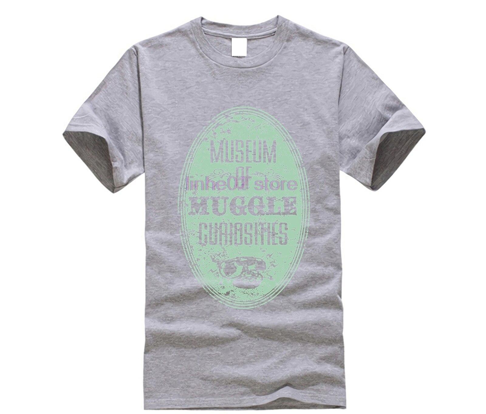harry men shirt Museum of Muggle Curiosities T-Shirt (2) potter top tee 21