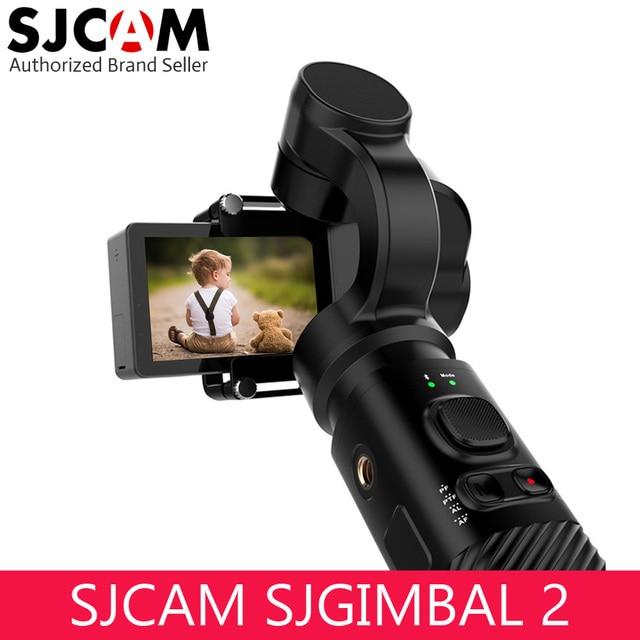 SJCAM Handheld Gimbal Bluetooch 3 Axis Handeld Stabilizer for SJCAM SJ8 SJ7 SJ6 or Yi 4K Action Camera