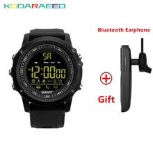 Quente Relógio Inteligente EX17 Smartwatch À Prova D' Água de Natação Cronômetro Aptidão Rastreador Esportes Pedômetro Inteligente Relógio de Pulso para IOS Android