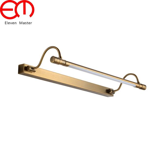Spiegelkast Verlichting Badkamer.54 68 Cm Badkamer Spiegel Lamp Waterdicht Brons Kabinet Vanity