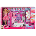 Original barbie doll toys colocação projeto gift set com 5 conjuntos de roupas acessórios brinquedo educativo presente de aniversário para as meninas