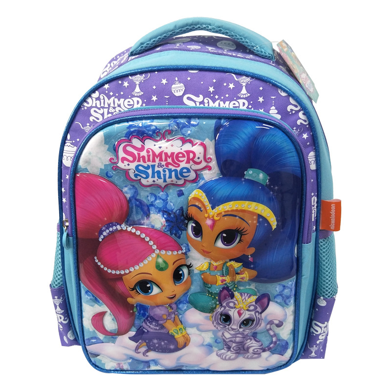 Toy Backpack Glittering Shimmer Study Shine Girl And Learn Beautiful Children