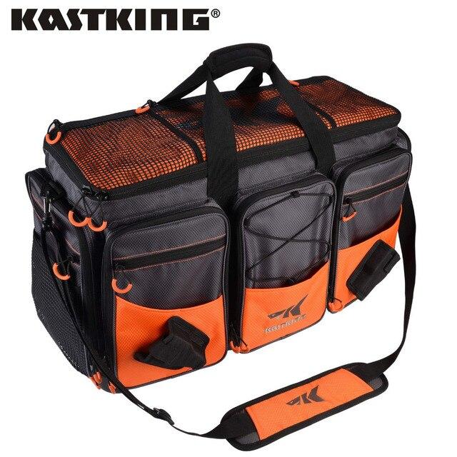 KastKing Fishing Bag Large Capacity Multifunctional Lure Fishing Hawg Tackle Bag Outdoor Pick Up Fishing Boxes Plier Storage