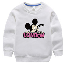 AJLONGER Boys Sweatshirt Boys Long Sleeve Tops Cartoon Fall T-shirts For Kids Sweatshirt Baby T shirt Autumn Boy Clothes цена