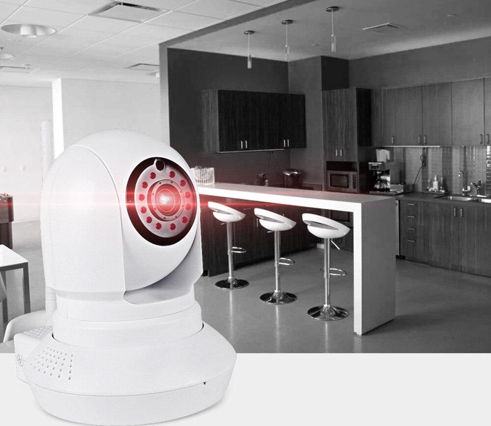 HIPERDEAL Modules domotique intelligents moniteur de téléphone 1280x720 p sans fil intelligent caméra détection de mouvement avec Microphone 12 JANN