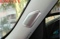 Car A Pillar Door Loud Sound Audio Stereo Speaker Cover Trim Styling Sticker ABS Fit For