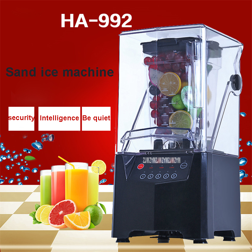 1000ml HA-992  Commercial  Mute Blender Mixer blender mixer milkshake machine 220V 50Hz1000ml HA-992  Commercial  Mute Blender Mixer blender mixer milkshake machine 220V 50Hz
