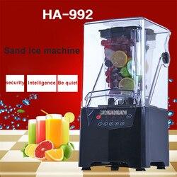 1000ml HA-992  Commercial  Mute Blender Mixer blender mixer milkshake machine 220V 50Hz