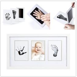 Baby Handabdruck Fußabdruck Ungiftig Neugeborenen Impressum Hand Inkpad Wasserzeichen Infant Souvenirs Casting Ton Spielzeug Geschenk