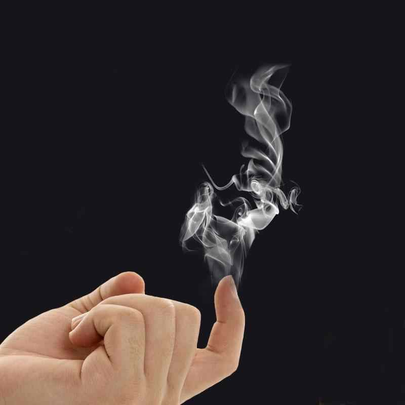Nuevo Adorable truco de magia de humo de dedo ilusión de magia etapa de primer plano Stand-Up