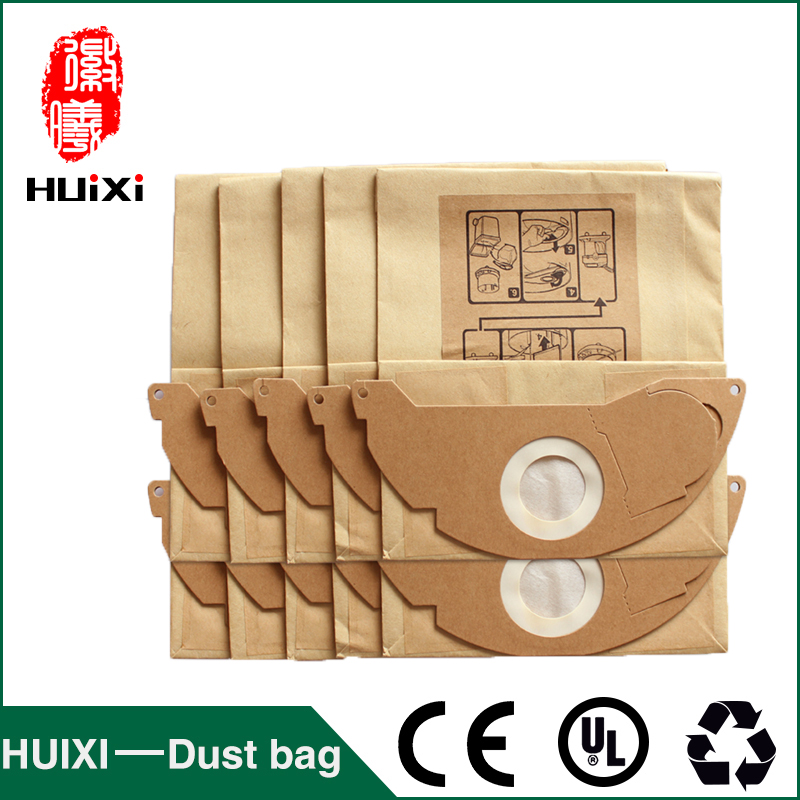Paper dust bags and filter change bags with high efficiency of vacuum cleaner parts for MV2  WD2.000-WD2.399 etc dust bags and dust bucket of vacuum cleaner parts with high efficiency for vt02w 09b t3 l201b etc