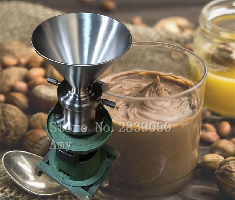 HTB1NHLdb8HH8KJjy0Fbq6AqlpXaZ - Home and Business Split Type Colloid Mill Multifunctional Peanut Butter Machine Tahini Soybean Chili Sauce Making Machine
