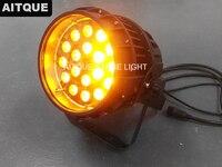 4 los Outdoor ip65 led beleuchtung par led rgbwa zoom 18x15 rgbwa 5in1 led wasserdicht zoom par licht-in Bühnen-Lichteffekt aus Licht & Beleuchtung bei