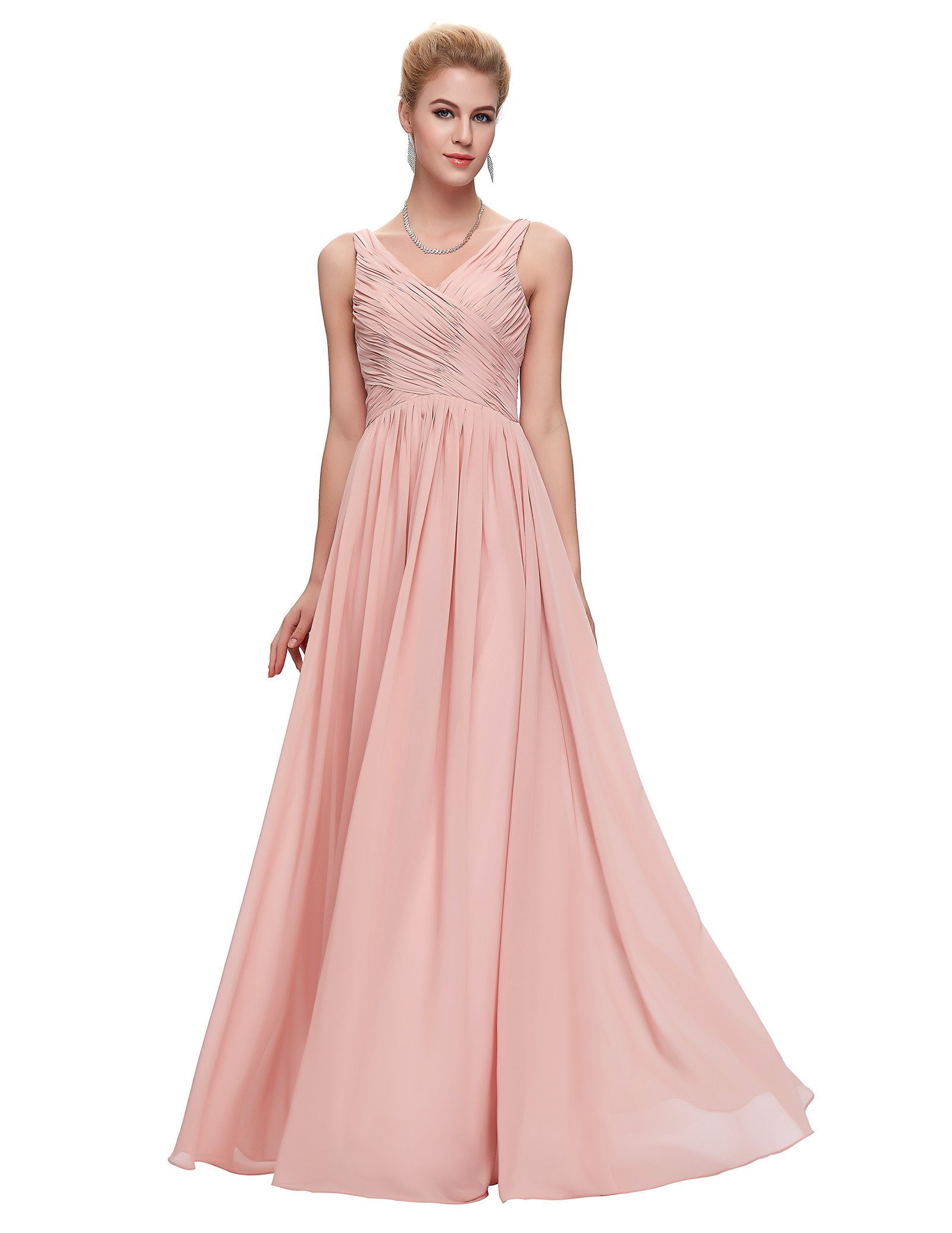 Grace karin aqua azul de dama de honor vestidos de blush rosa rojo ...