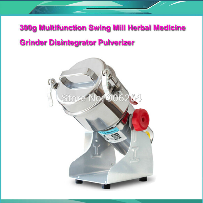 2016 New Product 300g Chinese Medicine Grinder Stainless Steel Household Electric Flour Mill Powder Machine, Small Food Grinder home nut butter grinder