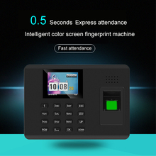 Biometric Time Attendance System Fingerprint Reader TCP/IP USB Time clock recorder Employees Device Fingerprint Time Attendance цена