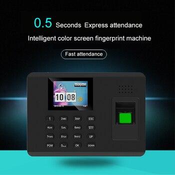 цена на Biometric Time Attendance System Fingerprint Reader TCP/IP USB Time clock recorder Employees Device Fingerprint Time Attendance