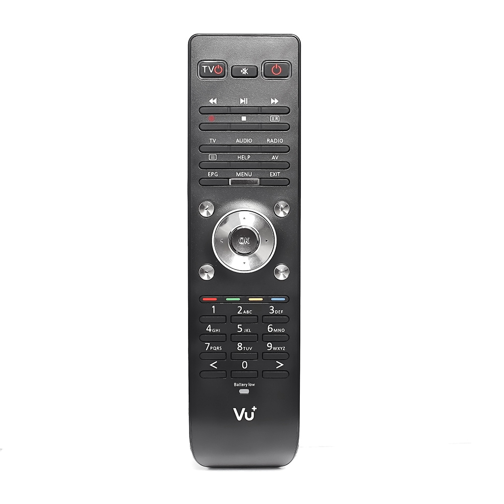 Remote Control for Satellite Receiver VU Duo 2 Vu Duo2 Smart TV BOX and VU Duo2 Remote Controller  free shipping satellite set top box remote control for dream box 8000 800 black 2 x aaa