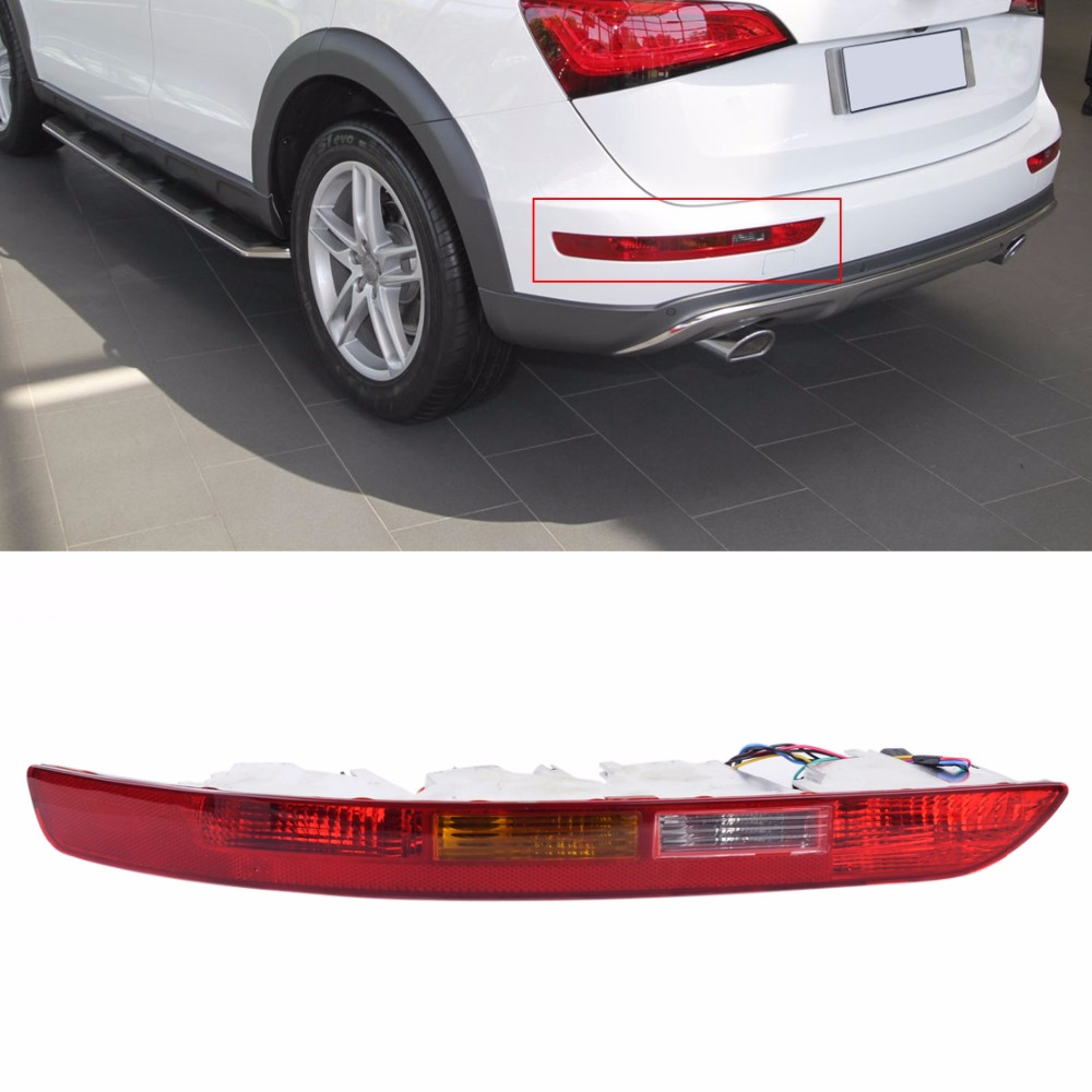 CITALL 8R09450 Rear Left Side Lower Bumper Taillight Lamp Reverse Fog Lamp Assembly for Audi Q5 2009 - 2012 2013 2014 2015 2016 купить ауди q 5 2009