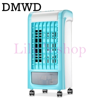 DMWD Air conditioning fan water cooled chiller electric cooling fan remote timing cooler Humidifier air conditioner fans EU US electric cooling air conditioning fan air conditioner -