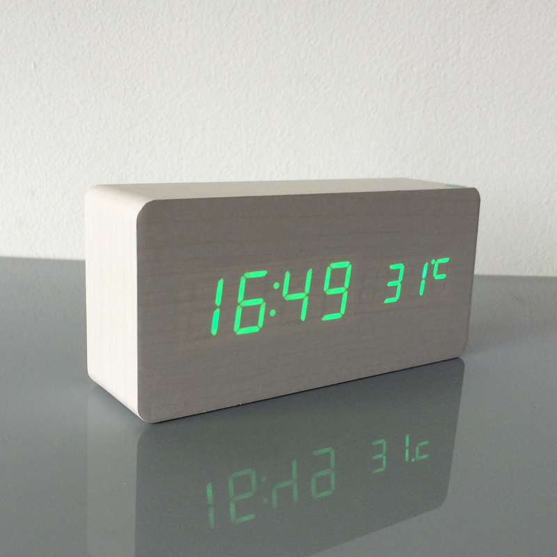 Fibisonic Best High End Clocks Thermometer Alarm Clock Led