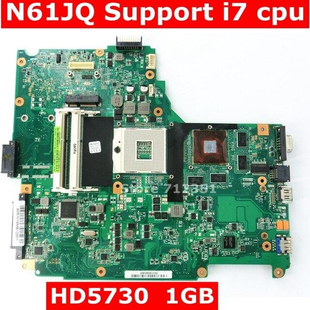 N61JQ плата Поддержка i7 Процессор для ASUS N61JA N61JQ Материнская плата ноутбука REV2.1 HM55 HD5730 1 ГБ DDR3 60-NY9MB1200-C03 протестированы
