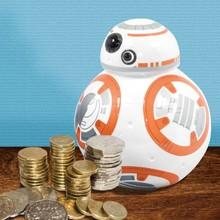 Творческий звездные войны штурмовик / дарт вейдер / BB-8 деньги банк, Звездные войны фигурки копилку виниловые куклы монета деньги сохранение Box