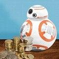 Criativo de Star Wars Stormtrooper/Darth Vader/BB-8 Banco Do Dinheiro, Banco Piggy Vinil Boneca Figuras de Ação Star Wars Coin Money Saving Box