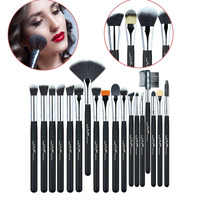 24 pcs Profession Makeup Brushes Set Super Soft Taklon Hair Foundation Eyes Lips Brush Tool Kit Women Makeup Tool Kits H7JP