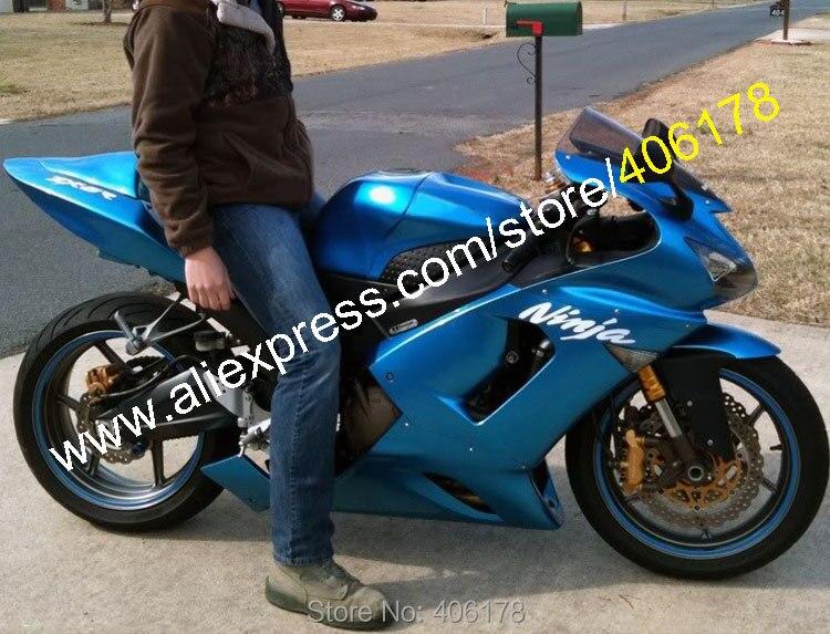 Kawasaki Zx 6r 636 2005 Idea Di Immagine Del Motociclo