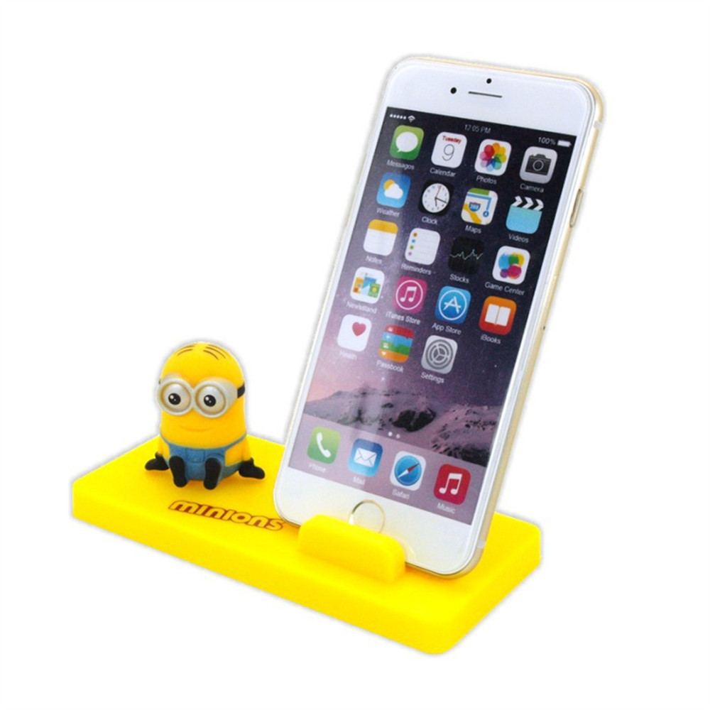Online Shop 180pcslot Universal Minions Cell Phone Stands Cute