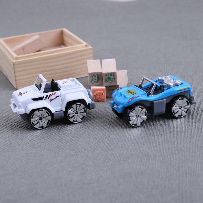 6pcs Mini Toys Cars Mixed Pattern Alloy Car Model Kids Children Child Boys Birthday Gift Present Educational