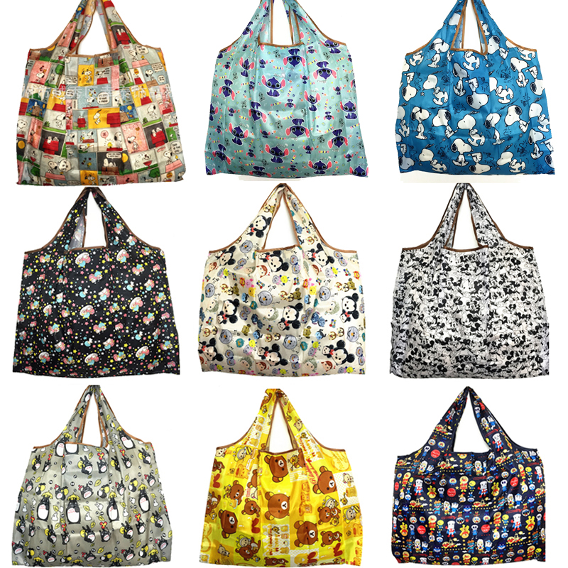 Phander Tote Storage-Bags Recycle Folding Reusable Cartoon