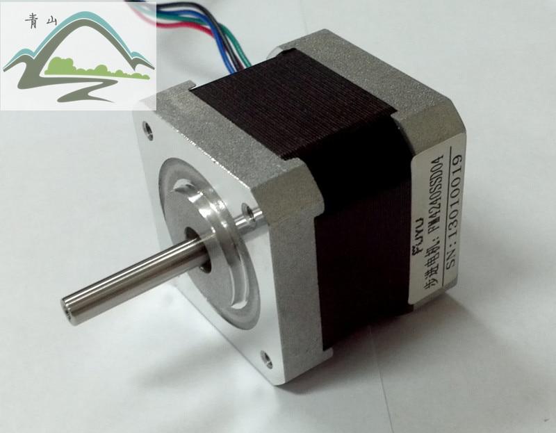 Шаговый электродвигатель 57HS7630B4, 76 мм, 1,8 нм, двухфазный мотор nema23, аксессуары для гравировального станка, принтера