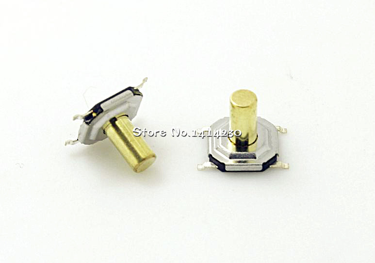 10PCS 4*4*5mm 4x4x 5MM 4X4X5mm Tactile Push Button Switch Tact 4 Pin Switch Micro Switch SMD