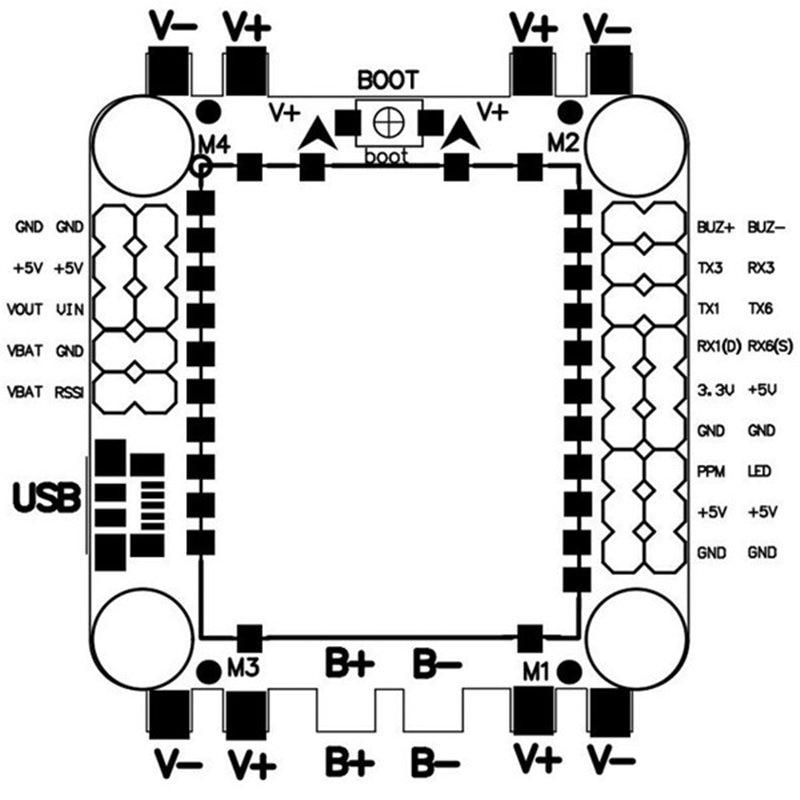 30-5-30-5mm-BETAFLIGHT-F4-Flight-Controller-AIO-OSD-5V-BEC-Current-Sensor-w-Anti (2)